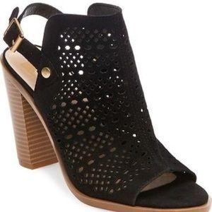 DV black Kassi block heel sandal